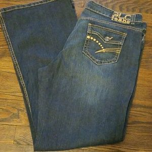 Bootcut Jean's by Glo